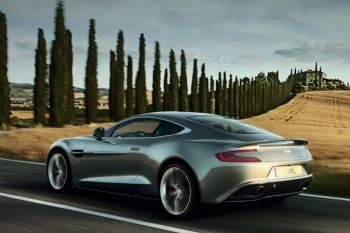 Aston Martin Vanquish Coupé Touchtronic III