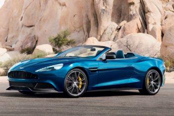 Aston Martin Vanquish S Volante Touchtronic III